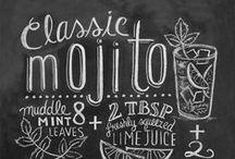 Chalkboard Ideas / by Diana Moffo