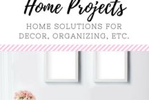 (DIY) Home Projects / DIY Projects to beautify your home.  DIY, crafts, home, family