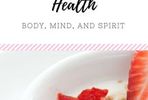 (HEALTH) Body & Health / Ideas to improve body and health for all members of the family!