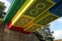 Artsy Spaces in Public Places / public art, street art, urban art