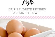 (FOOD) Fish / Yummy recipes for fish, shrimp, and all things seafood! Includes main dishes, appetizers, dips, and other food.