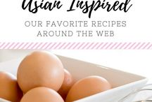 (FOOD) Asian Inspired Foods / Yum! Our favorite Asian Inspired Foods and Recipes