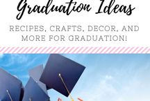 (HOLIDAY) Graduation Ideas / Ideas for gifts, decorations, parties, and everything needed for Graduation!