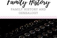 (FAMILY) Genealogy and Family History