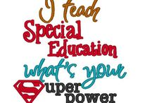 Special Ed Para Projects