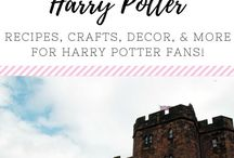 (BOOKS) Harry Potter Love / A board to pin all things Harry Potter-recipes, decor, crafts, and other ideas!