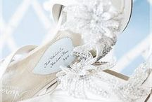 Weddings Shoes / Shoespiration & ideas for wedding shoes, other fab footwear and wedding or bridal party accessories