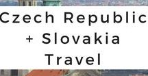 Czech Republic + Slovakia Travel / Get your Czech Republic and Slovakia wanderlust inspired through photo tours, travel tips, destination guides, travel adventures, itineraries, and travel advice.