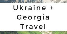 Ukraine + Georgia Travel / Get your Ukraine and Georgia wanderlust inspired through photo tours, travel tips, destination guides, travel adventures, itineraries, and travel advice.