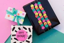 wrap and give / for the creative soul. wrapping ideas for all occasions.
