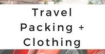Travel Packing + Clothing / The best packing, luggage, clothing, and style advice, tips, and hints for a culturally aware traveler, first-time traveler or anyone wanting to travel smarter.