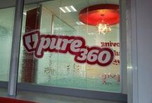Pure360 Towers / Take a look around our Pure360 office. It's where the magic happens...