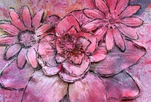 mixed art Flowers / by Janique Sansonnens Bise