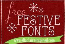 DIY: digi paper, fonts and ideas