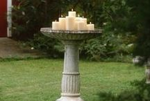~BIRD BATHS~ / Bird Bath Ideas~!
