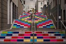 ImagiKnit: Knit Graffiti / Yarn bombing and public displays of yarnfection.