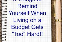 Kicking Debt and Money Saving Tips / Ways to pay off debt, money saving tricks, Dave Ramsey lifestyle tips, and more!