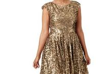 PLUS SIZE NEW YEAR'S EVE DRESSES / My favorite plus size dresses and style ideas for New Year's Eve.  / by Curves and Chaos™