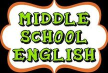 Middle School English  / This board will be ideas others have for Middle School Classrooms.  As I try them out, I will add them to another board with any ideas / suggestions for others trying it out! NOTE: I'm keeping this board to the top 200-215 pins for ELA. :)