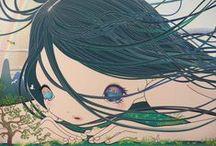 JAPAN: modern art, illustration... / by Raquel MC