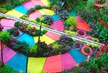 Garden art / by Artist Lorraine Martin