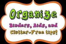 """Classroom Organization / Aids, binders, and organization ideas for a middle school classroom. NOTE: the board """"For the Classroom"""" has been split between Classroom Organization and Classroom Décor."""