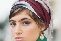 We've got it covered! / Headcoverings can become a unique accessory to all outfits.