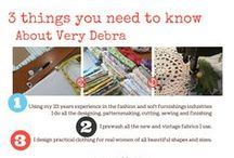 Very Debra / Patterns and ready to wear clothing. Photos from photo shoots, advertising and blog. / by Debra Verrall