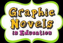 GRAPHIC NOVELS in Education / This board serves to share the latest and greatest in graphic novels, when to use them in your classroom, tips for teaching, and engaging the students. Have fun!