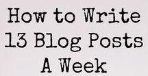 Blog stuff