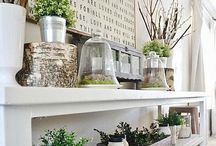 Home--Decorating / Things for walls and shelves, knick knacks, room layouts, decorating tips  / by Jill Dunn