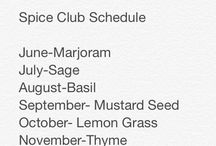 Monthly spice club