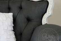 Sofas / Sofa and upholstery ideas
