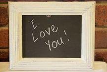 Chalkboards and Frames