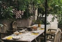 dining al fresco / by Isabeau Grey