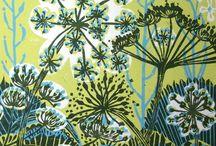 Lino Cuts / Wood Cuts / Prints / Lino prints, Lino cuts of beauty