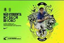 Camisa Nike Brasil 2 - Azul / A camisa que vestirá os nossos guerreiros no campo de batalha já chegou no site da Centauro! Compre agora mesmo o 2º padrão da Seleção Brasileira!