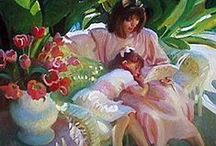 Painting Children / by Francoise Chauray