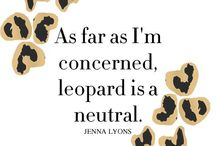 Leopard Print- Me-WOW! / by Brenda Wells Sievers