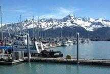 Seward, Alaska / Photos from the beautiful harbor town of Seward, Alaska, the departure point for seven Major Marine Tours cruises.