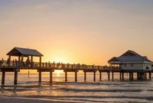 Florida / Home to pristine beaches, year round sunshine and field after field of orange trees, Florida has long provided a warm welcome to visitors, we recommend a visit between November and May for the best climate.
