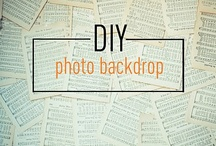 Photography / DSLR tips, backdrops, etc... / by Elizabeth 'Myles' Olson