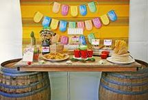 Let's Party! / Party theme and decorating ideas / by Lorna Leslie