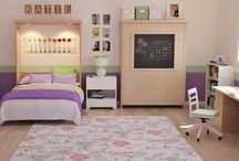 The Camden Murphy Bed / A Murphy bed with creative possibilities as unique as your space—the Camden Murphy Bed features a frame mounted on the face of the bed that can house either a chalk board, a cork board, or a dry-erase board.  This multipurpose bed not only saves valuable space in your room, but it presents a vertical workspace when the bed is not in use.