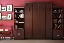 The Revera Murphy Bed / The Revera wall bed collection exhibits classic style with its comfortable soft-edged look collection durable construction. Using only the highest quality oak and maple, we insist on applying a lustrous multi-step hand finish that further enhances the wood's deep color and flowing grain. The result is a Murphy bed that will be a lovely and lasting addition to any room, when in use or when stored.  Available in vertical and horizontal configurations.