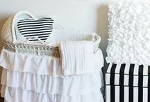 children & baby rooms / a variety of nursery and kids bedroom decorating ideas for down the road. / by Amy Woods