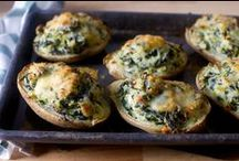 Recipes / Vegetarian recipes for suppers and side dishes.