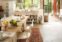 kitchen & eating room / by Naomi Ananian