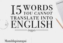 linguistics / by Naomi Ananian