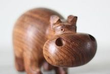 Cute Animal Ideas / A collection of cute wood carved animals and cute animal ideas for wood carving.